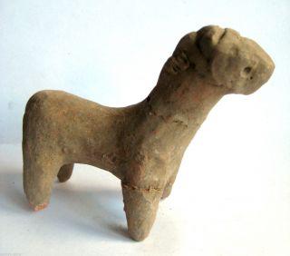 Circa.  2500 B.  C Large Bronze Age Harappan Culture Terracotta Statue Idol - Horse photo
