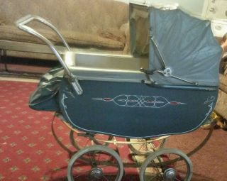Antique Thayer Baby Carriage photo