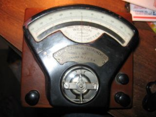 Weston Electrical Instrument Co.  Direct Current Millivoltmeter photo