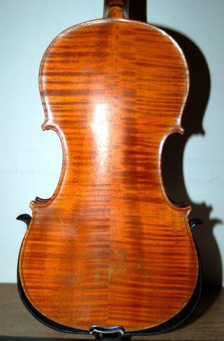 Fine German Handmade Antique 4/4 Violin - Around 100years Old photo