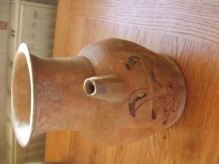 China.  Tang Era.  618 - 907ad Glazed Pottery Wine Ewer. photo