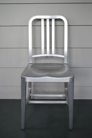Authentic Emeco Aluminum Navy Chair photo