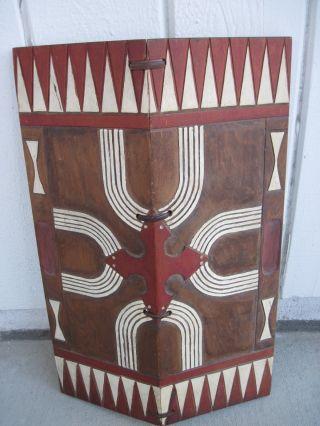 Rukai Shield Taiwanese Aboriginal Paiwan Tribe Formosa photo