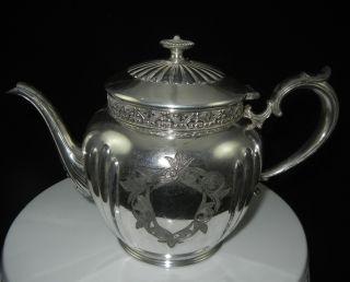 Antique Knickerbocker Silver Co Vintage Tea