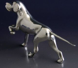 Quality Sterling Silver Pointer Dog Model Hunting Shooting photo