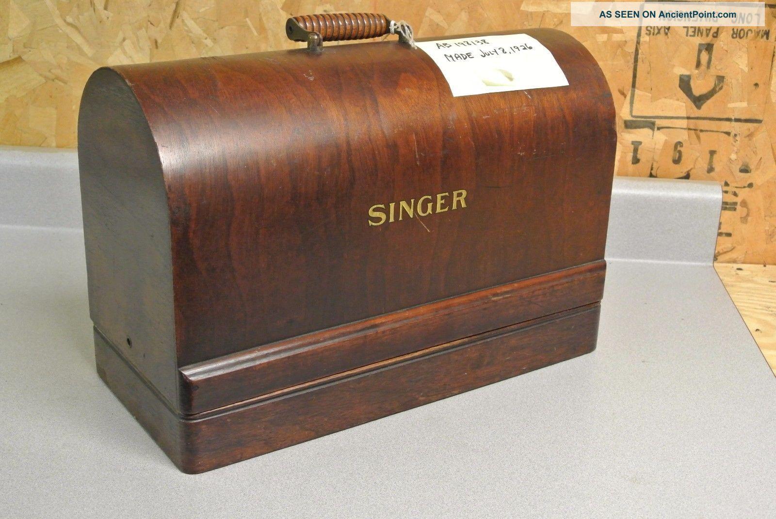Antique Singer Sewing Machine Sewing Machines photo