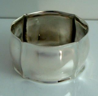 Vintage 830 Silver Franz Scheuerle Fancy Napkin Ring Germany photo