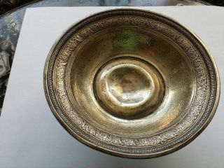 Sterling Silver Webster Compote Bowl 5.  4