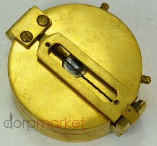 Antique Nautical Brass Compass Ww Ii Compass 2
