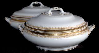 Antique Tureens Keeling & Co ' Losol Ware ' Keystone & Filigree 3171 Vgc photo
