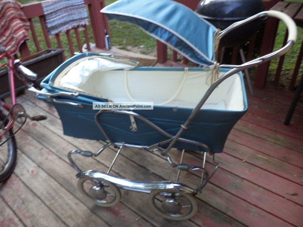 Metal vintage 1950 baby strollers s