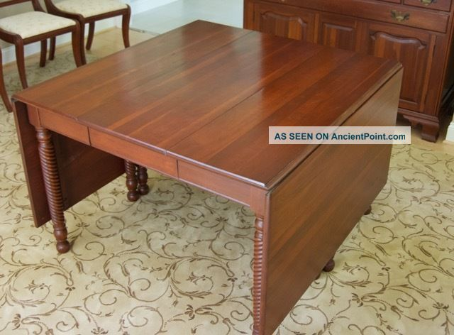 Willett Solid Cherry Dining Room Furniture Post-1950 photo