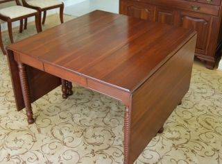 Willett Solid Cherry Dining Room Furniture photo