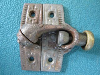 Antique Payson Victorian Eastlake Window Sash Locks Hardware 1870