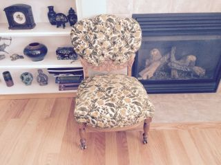 Fabulous Victorian Style Chair photo