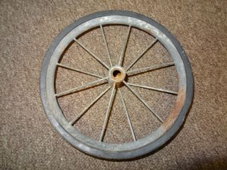 Wheel For Baby Buggy Scooter Trike Semi Pneumatic Hard Tire 9 Inch Od photo