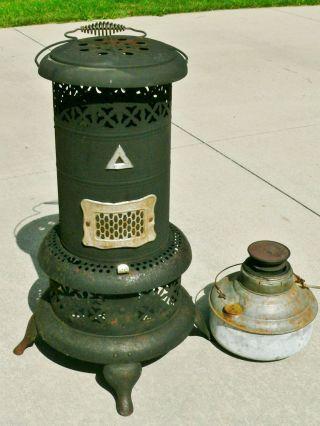 Vintage Perfection No 525 Smokeless Oil Room Space Heater Stove Kerosene Portabl photo