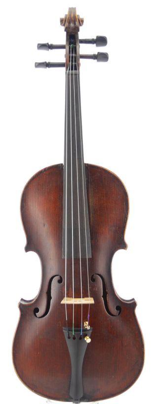 Fine,  Antique Old Italian School Violin 4/4 photo