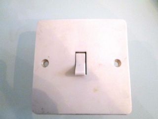 Vintage Light Switch 50s photo