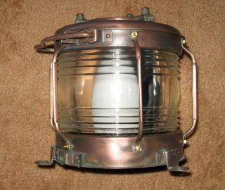 Lighthouse Lantern - Fresnel Lens - Pier - Very Unique - Japanese Origin photo