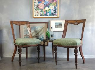 Antique French Klismos Chairs photo