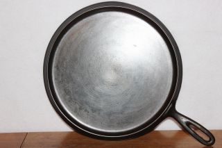 Antique 1892 - 1898 Wagner No.  10 Handled Round Griddle Wagner Manufacturing Co photo
