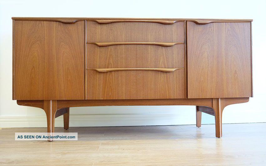 Vintage Retro Teak Small Sideboard Cabinet Mid Century By Sutcliffe Of Todmorden 1900-1950 photo