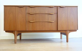Vintage Retro Teak Small Sideboard Cabinet Mid Century By Sutcliffe Of Todmorden photo