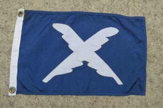 12 X 19 Canvas Flag Yacht Club Sailboat Ship Boat Signal (871) photo