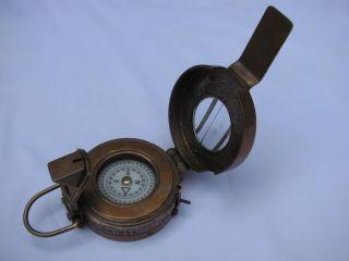 British Prismatic Compass 2.  5