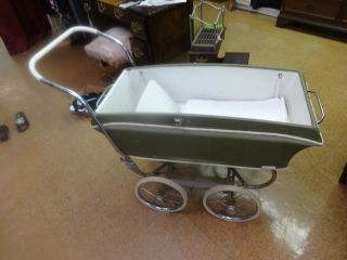 Vintage 1950′s Baby Carriage/stroller By Stroll O Chair Rex photo