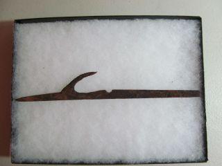 Iron Trade Point Harpoon Head American Indian Artifact Kodiak Alaska photo