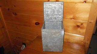 Vintage Metal Milkbox / St.  Lawrence Dairy Box photo