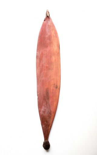 Classic Central Australian Aboriginal Spearthrower - Collected 1962 - 3 photo
