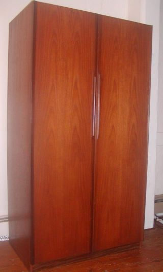 Teak Wood Armoire,  Danish Midcentury - Modern photo