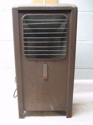 Antique / Vintage Rusty Air Flow Everhot Electric Space Heater photo