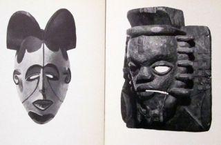 Nigeria African Tribal Sculpture Mask Benin Bini Yoruba Ibo Ibibio Ekoi Art 1969 photo