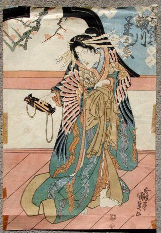 Japanese Woodblock Print (vi) photo