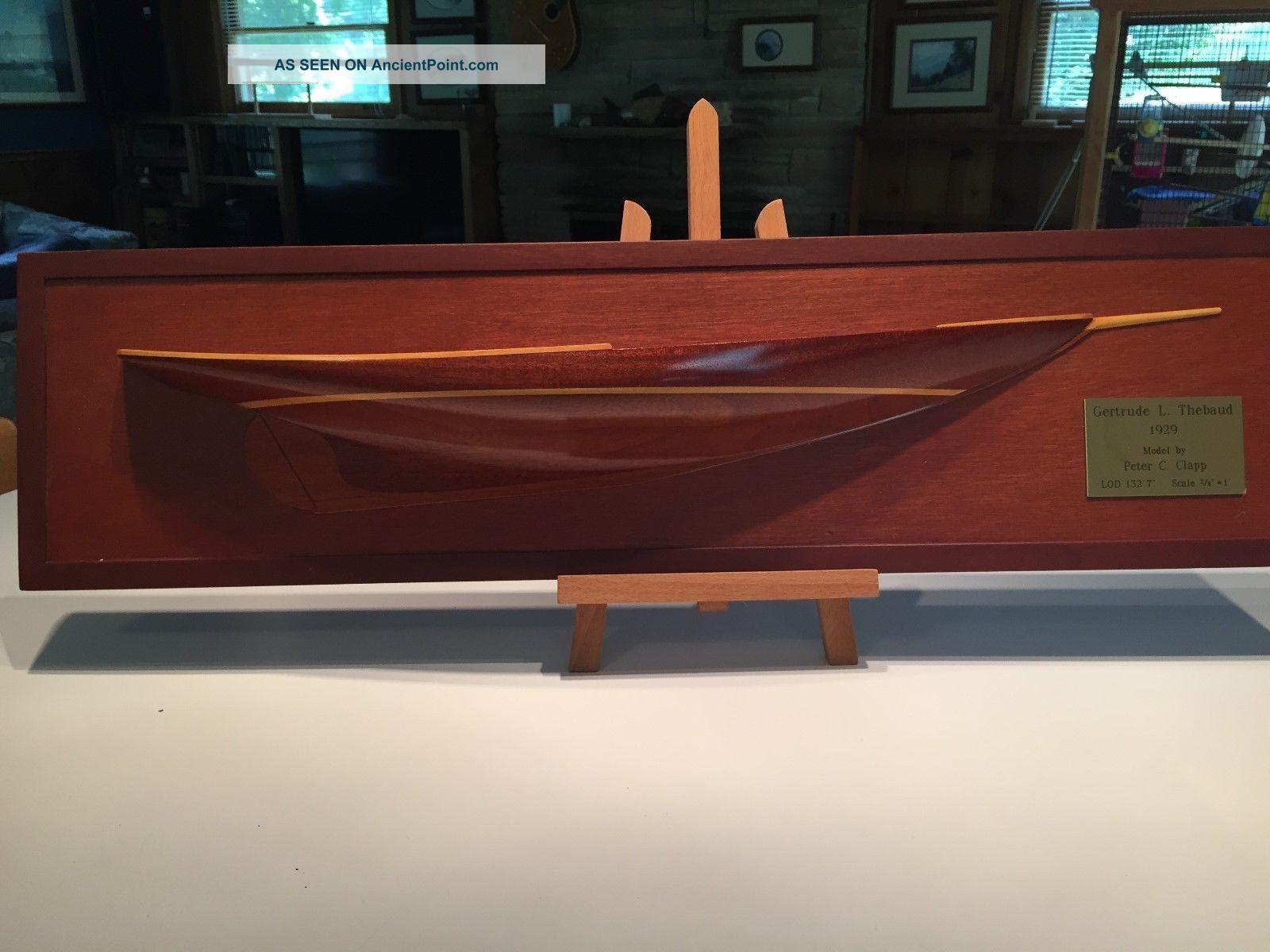 Half Hull Model Ships photo