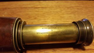 Broadhurst Clarkson & Co.  Three Draw Field Telescope photo