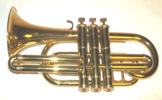 Ca.  1870 Cornet With Perinet Valves And Crooks - Restored Plays Fine photo