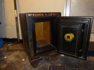 Vintage 1920s Heavy Antique Sable Safe Co Company Combination Cleveland Detroit photo