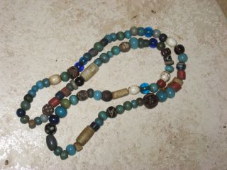90 Trade Beads Native American Utilized Lewis And Clark / Hudson Bay / Venetian photo