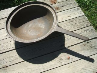 Antique Vintage Cast Iron Fireplace,  Hearth Kettle,  Long Handle,  3 Legs photo