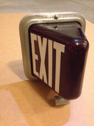 Exit Lamp Vintage photo