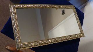 Edwardian Wall Mirror,  Cir - 1920.  Great Design & photo