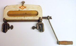 Vintage Handy Hot Hand Crank Laundry Sink Wringer photo