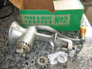 Vintage Landers,  Frary,  & Clark Universal Food And Meat Chopper No.  2 photo