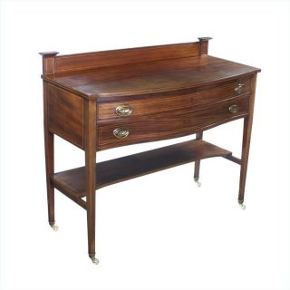 Edwardian American Arts And Crafts Mahogany Serving Table Sideboard photo