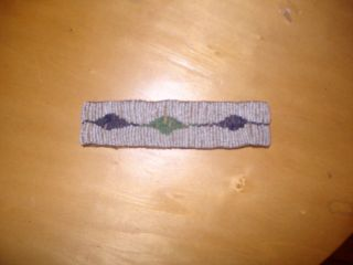 Native American Indian Antique Beaded Arm Band photo
